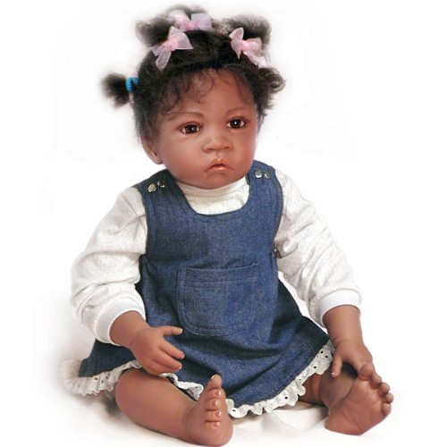 (Waltraud Hanl Jasmine's At Age 1-1/2 So Truly Real Lifelike Baby Doll by Ashton Drake)