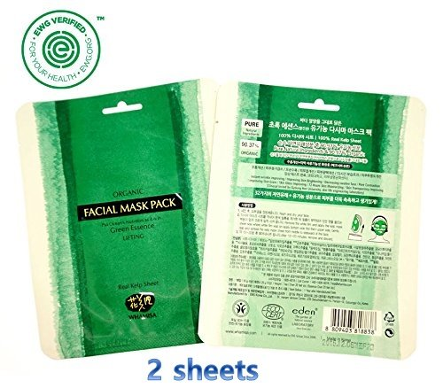 Whamisa Organic Sea Kelp Facial Sheet Mask