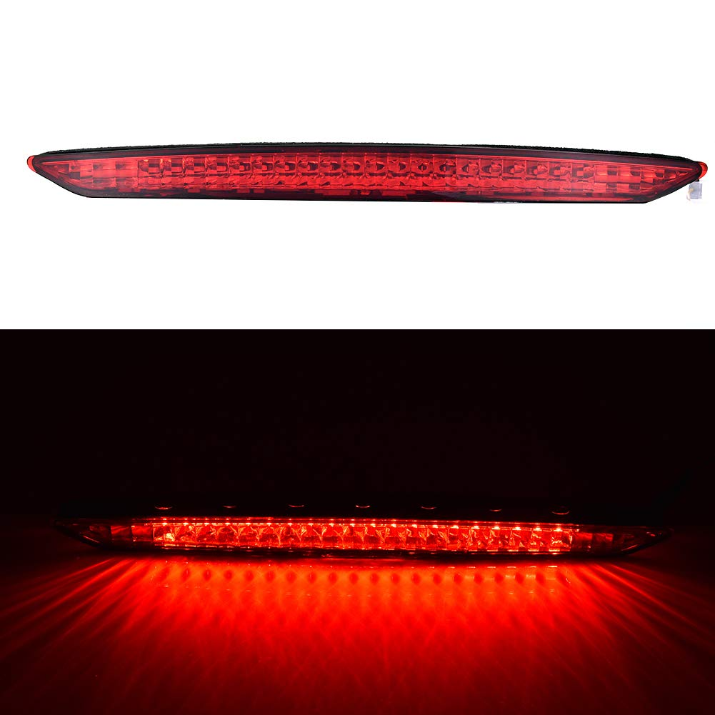 Younar Red Third Brake Stop LED Light Trailer Bar Lamp Clear Lens High Mount Waterproof For BMW Z4 E85 03-08
