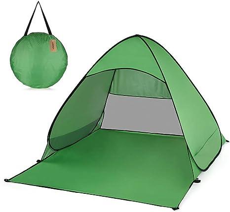FSD-MJ Tienda de campaña Ultraligera para 2 Personas Tienda de campaña de Pesca automática Instantánea Pop Up Protección UV para Exteriores Refugio de Camping: Amazon.es: Deportes y aire libre