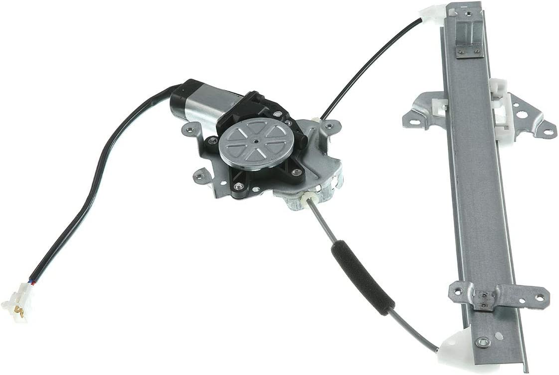 A-Premium Power Window Regulator with Motor Compatible with Mitsubishi Outlander 2003-2006 Rear Driver Side