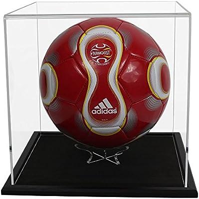 Widdowsons - Caja de exposición para balón de fútbol, base de ...