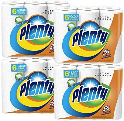 Paper Towels: Plenty