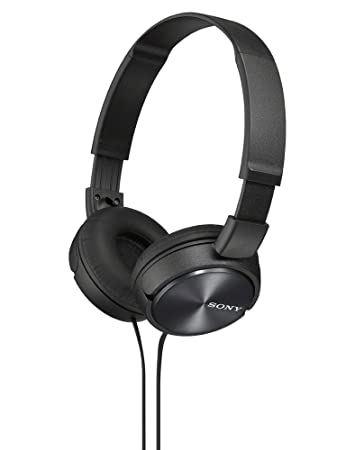 Sony MDR ZX310 Headphone   Black Wired Headsets