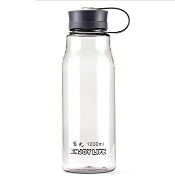 aiu Food Grade Agua de botellas de plástico Cups antigoteo para KINDERMANN Mujeres Sport Outdoor Camping