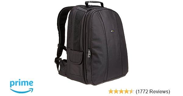 6fcabe2ad082 Amazon.com   AmazonBasics DSLR and Laptop Backpack - Orange interior    Laptop Computer Backpacks   Camera   Photo