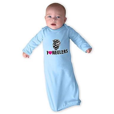 Amazoncom Cute Rascals I Heart Heelers Boys Girls Cotton Newborn