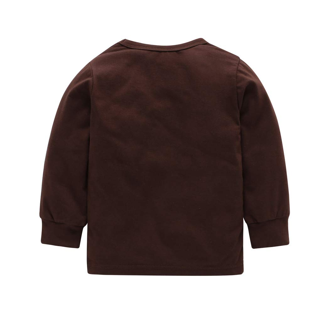 ... niños otoño Invierno, Newborn Kids Baby Boy Girl Dinosaurio Imprimir Tops + Pants Conjunto de 2 Piezas de Pijama Absolute: Amazon.es: Ropa y accesorios