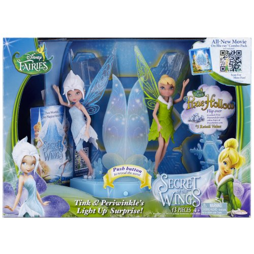 Disney Fairies Tink and Periwinkle's Light Up Surprise - Twinkle Disney Doll