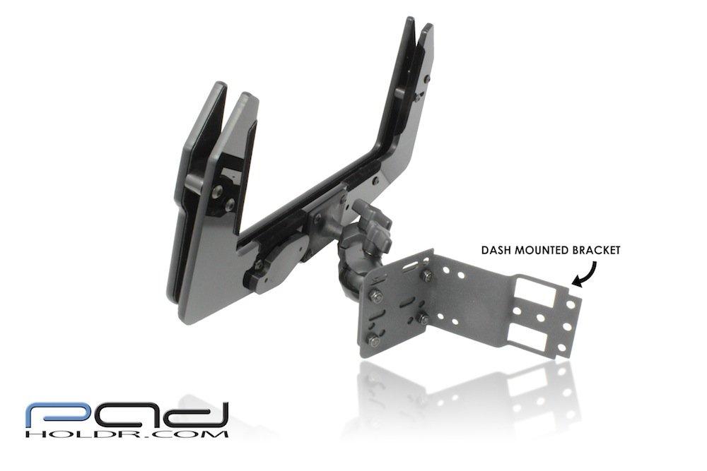 Padholdr Utility Series Premium Locking Tablet Dash Kit for 2006-2013 Kenworth Models by PADHOLDR (Image #2)