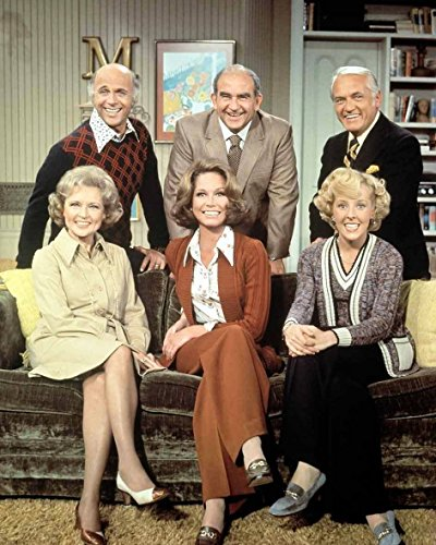 The Mary Tyler Moore Show Cast Photograph