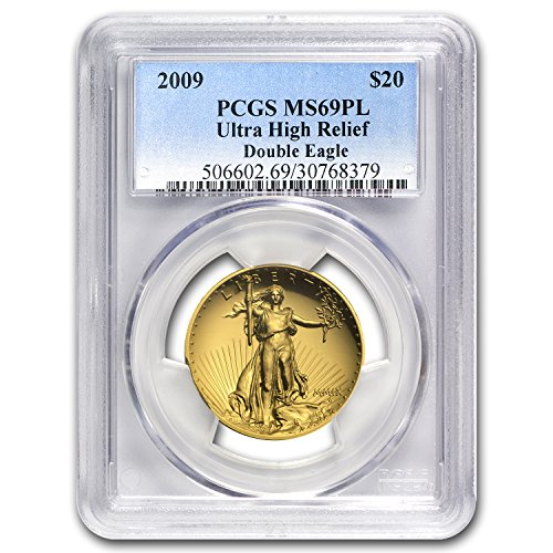 2009 Ultra High Relief Double Eagle MS-69 PL PCGS 1 OZ MS-69 PCGS