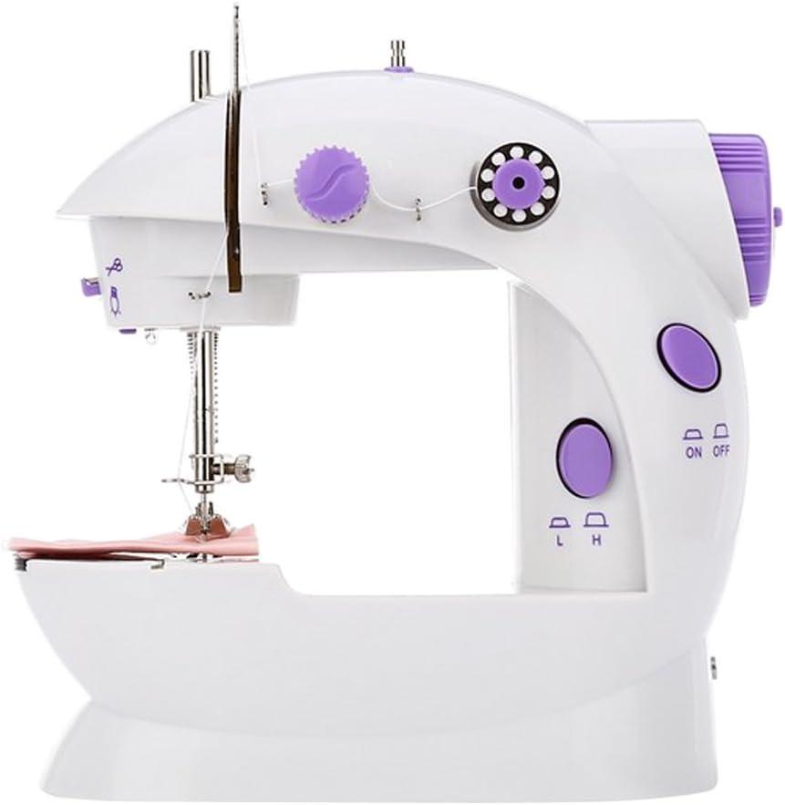 Gazechimp Mini Portable Máquina de Coser de Costura de Casa Oficina Viajes: Amazon.es: Hogar