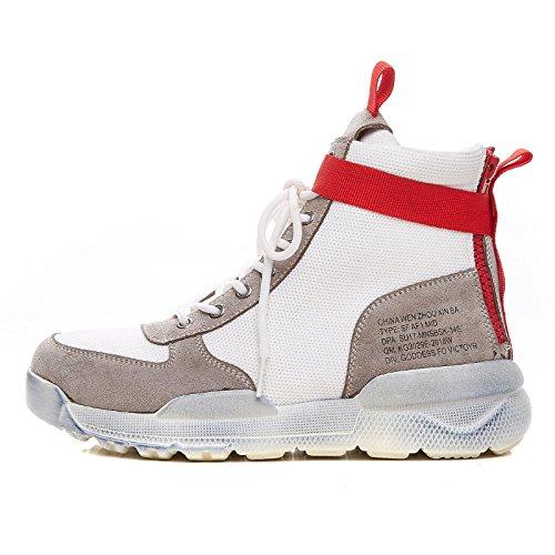 one Shoes GUNAINDMXHigh Shoes White Hip Sports Match Forty Spring New Hop white All qzPwrOqB