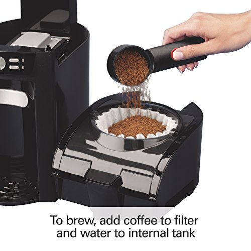 Coffee Maker With Internal Hot Water Tank : Hamilton Beach 6-Cup Coffee Maker, Programmable Brewstation Dispensing Coffee Machine (48274)