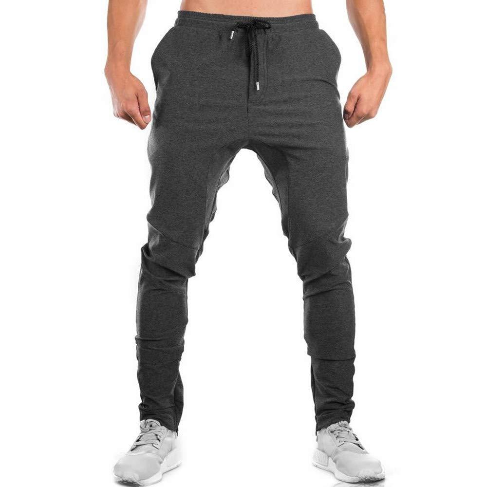 Pantalones de chándal para hombre, pantalones de entrenamiento ...