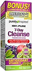 Be revitalized with the Purely Inspired 7-Day Cleanse to give your body a gentle flush. Within days, you'll feel renewed as you gently flush out excess waste. The superfruit gluten free capsules also contain the powerful antioxidant Vitamin C...