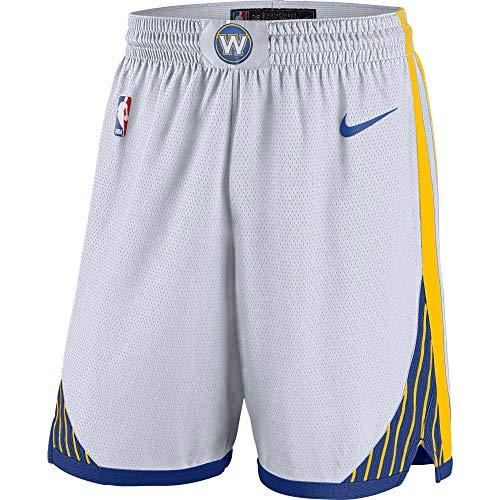 (Nike Golden State Warriors White Association Edition Swingman Basketball Shorts (X-Large))
