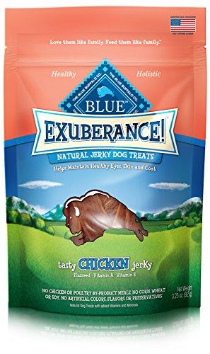 Blue Buffalo Exuberance Tasty Chicken Jerky, 3.25-Ounce