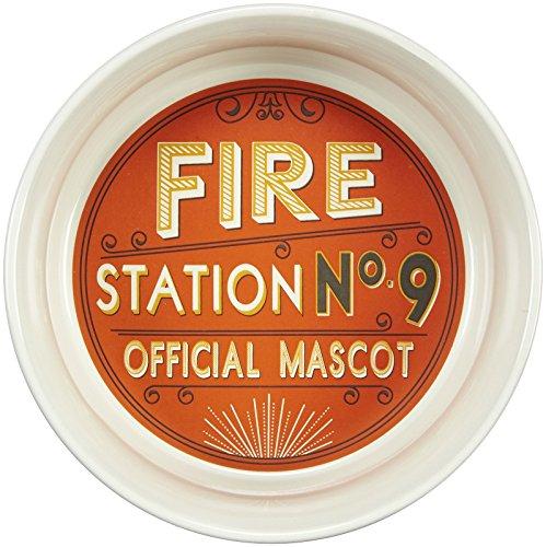- ORE Pet Fire Station No. 9 Ceramic Bowl