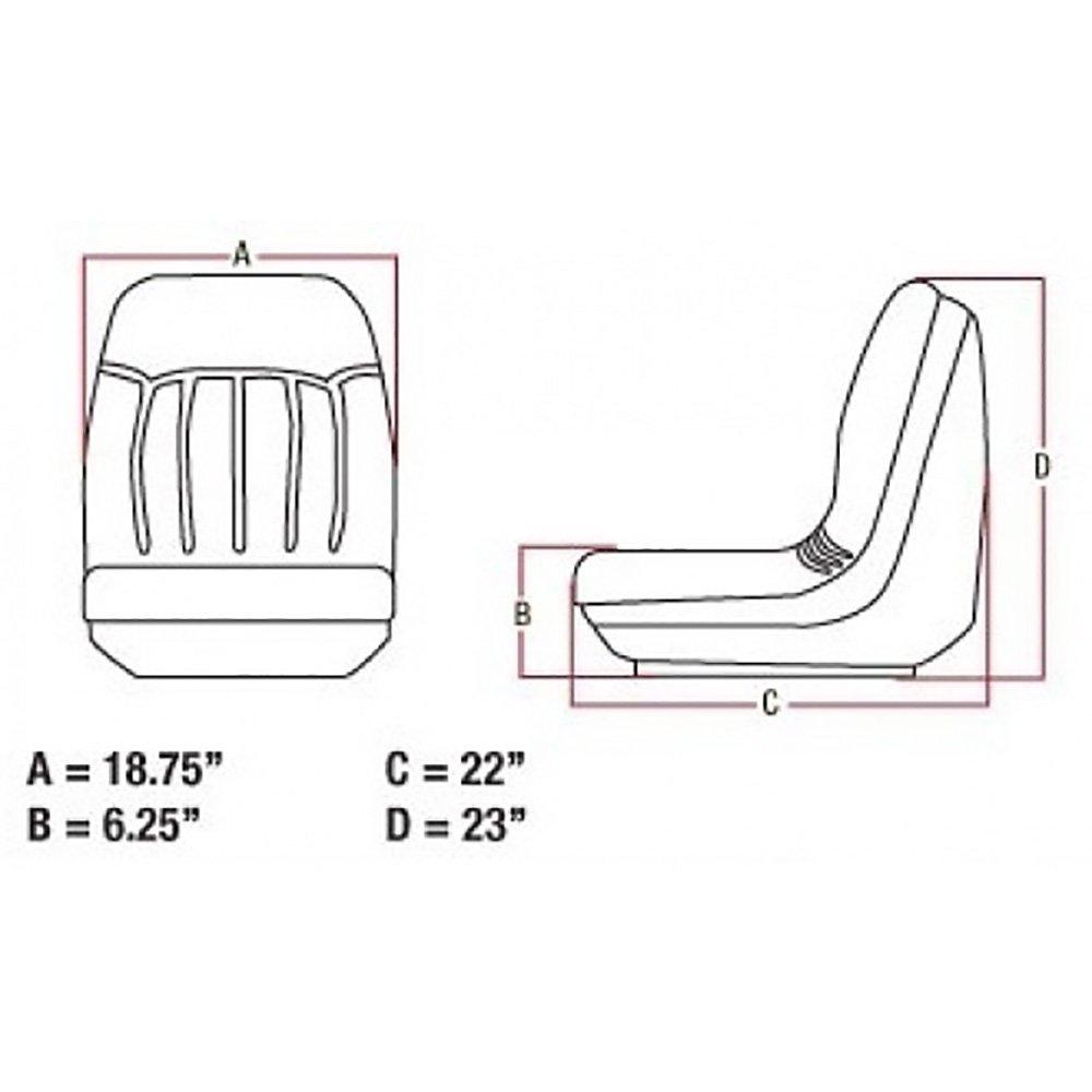 Seat for bobcat skidsteer industrial scientific jpg 1000x1000 Bobcat 742b