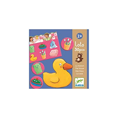 Djeco nbsp;Jeuxéducatifs Loto Maison et jouets