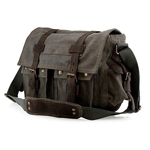 Extra Large Canvas Messenger Bag: Amazon.com