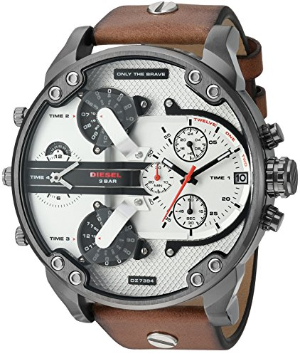 diesel-mens-dz7394-mr-daddy-20-gunmetal-ip-brown-leather-watch