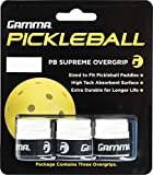 Gamma Sports Pickleball Supreme Overgrip, White