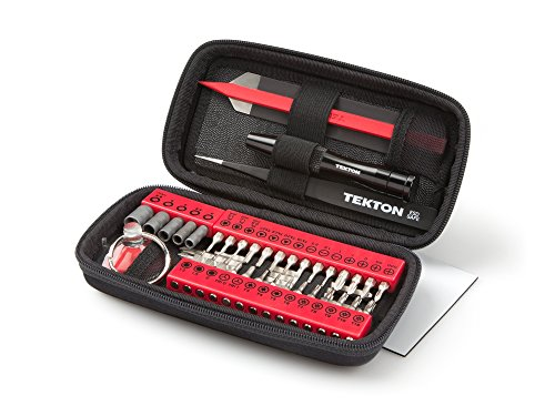TEKTON 28301 Everybit Tech Rescue (TM) Kit for Electronics, Phones and Precision Devices, 46-Piece