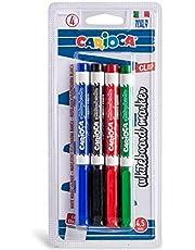Carioca Whiteboard Marker Set of 4 - Multi Color