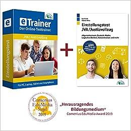JVA Einstellungstest Online Testtrainer • Jetzt online üben