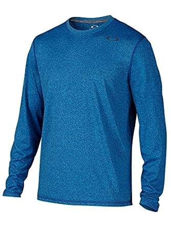 Oakley Mens All In Long-Sleeve Shirt 2X-Large Dark Blue
