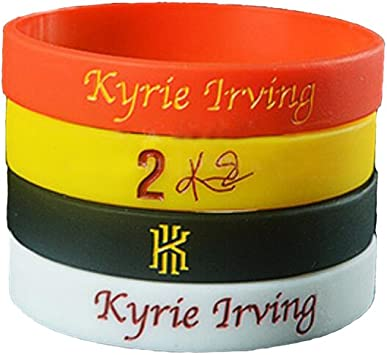 FANwenfeng NBA Baloncesto Kyrie Irving Pulsera de Silicona de la ...