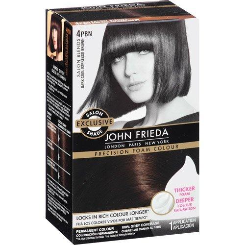 Sheer Blonde John Frieda Precision Foam Hair Colour 4Pbn Dar