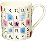 vintage scrabble tiles - Scrabble Vintage Ceramic Scrabble Tile Coffee Mug (14 Ounces)