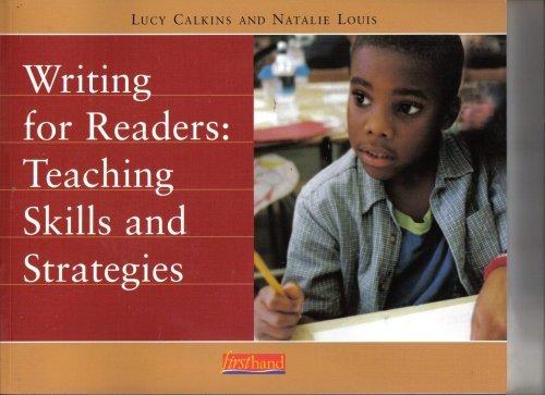 Writing Readers Teaching Skills Strategies product image