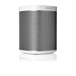 Sonos Original Play:1 - Compact Wireless Speaker for streaming music. Compatible with Alexa devices for voice control. (metallic white)