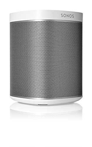 Sonos Original Play:1 - Compact Wireless Speaker for streaming music. Compatible with Alexa devices for voice control. (metallic white) (Kit 802.11b/g)