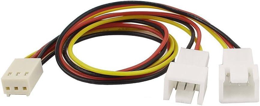 3P PC fan Cable de extension - SODIAL(R)3 Piezas 3 posiciones ...