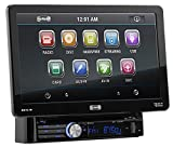 Sound Storm DD889B Double Din Bluetooth, DVD/CD/MP3/USB/SD AM/FM Receiver, 7' Detachable Widescreen Touch Screen Digital Monitor, Wireless Remote