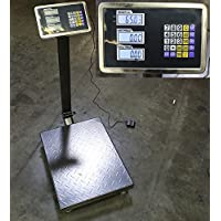 New 600lb Weight Computer Scale Digital Floor Platform Shipping Warehouse Postal