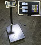omega digital scale - New 600lb Weight Computer Scale Digital Floor Platform Shipping Warehouse Postal