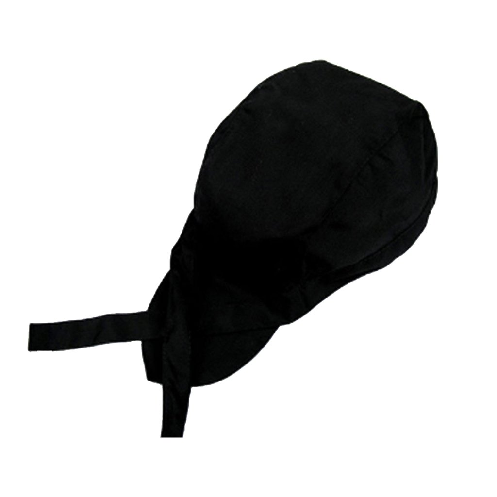 11 Pattens Disponibles Chile Rojo KESOTO Chef De Moda Headwrap Tie Back Hat Gorra De Calavera para Caf/é Restaurante Waiters Bakers Cook
