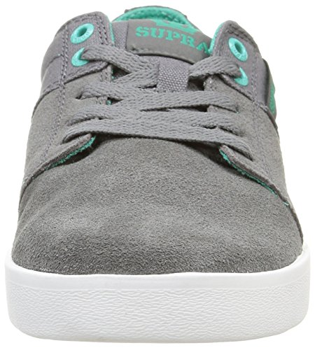 Skate Supra Stacks Charcoal Shoe II Men's Canvas Suede qwSCPwHt