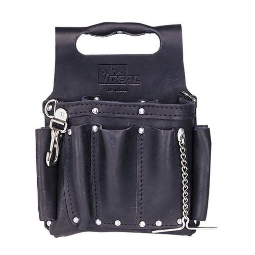 Ideal Industries 35-950BLK Premium Black Pouch with Shoulder Strap by Ideal Industries