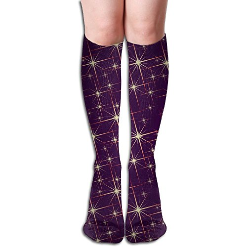 Star Dianthus (Sparkle Stars High Stockings Ugly Crew Socks)