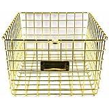 storage basket (Gold)