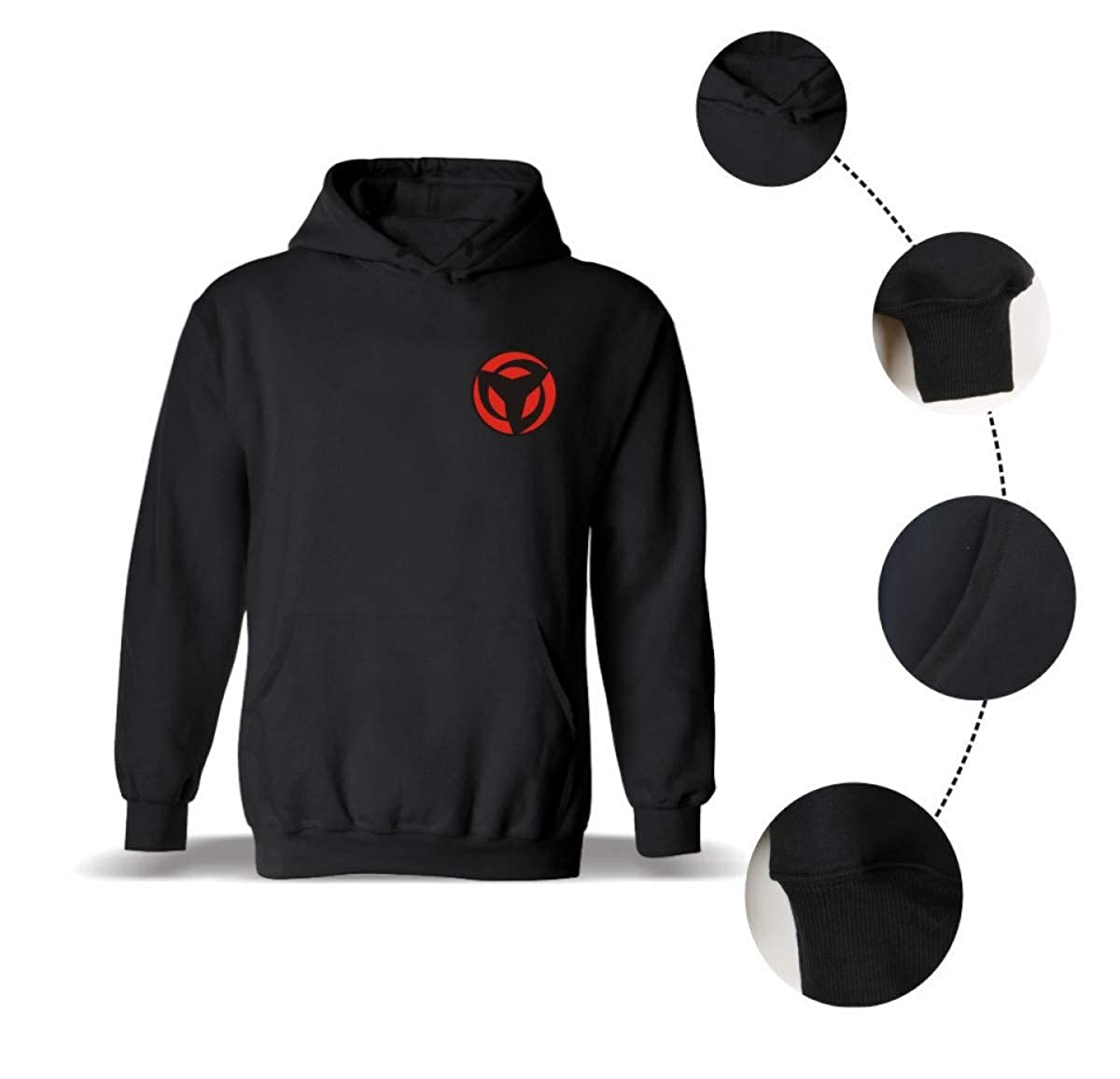 Amazon.com: WEEKEND SHOP Hoodie Naruto Hoodies Sweatshirts Uchiha Syaringan Hooded Men Hokage Ninjia Men: Clothing