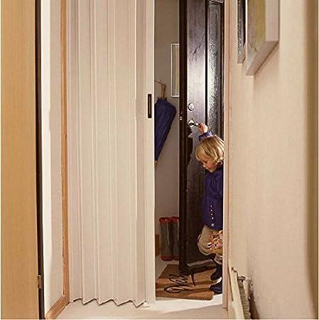 Psy puerta acordeón PVC blanco: Amazon.es: Bricolaje y herramientas